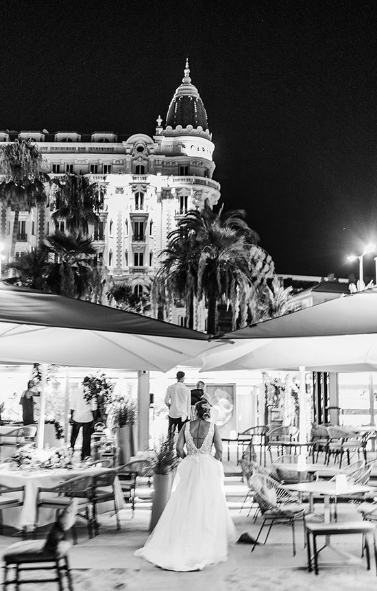 palace cannes mariage plage carlton