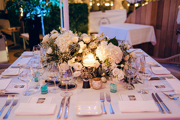 table mariage plage organisation cannes