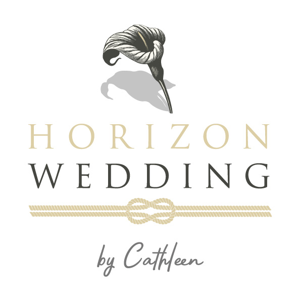 horizon wedding logo cote d'azur wedding planner